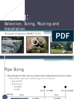 Piping and Routing