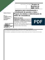 Emenda NBR 13276-04
