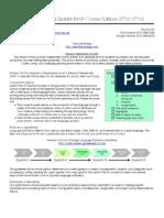 LHS Spanish II PAP Course Syllabus