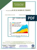 A ESPAÑA SE LE ACABA EL TIEMPO (Es) SPAIN IS RUNNING OUT OF TIME (Es) DENBORA AGORTZEN ARI ZAIO ESPAINIARI (Es)