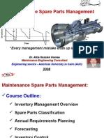 021 Maint Spare Parts Management 31 01 08