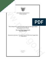 Peran Empat Pilar Kehidupan Berbangsa Dan Bernegara Dalam Penanganan Konflik Sosial 1331521126