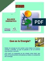 Energía y Balance Energético