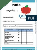 3er Grado - Diagnóstico (12-13)