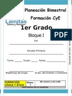 1er Grado - Bloque 1 - Formación CyE