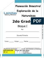 2do Grado - Bloque 1 - Exploración de la Naturaleza