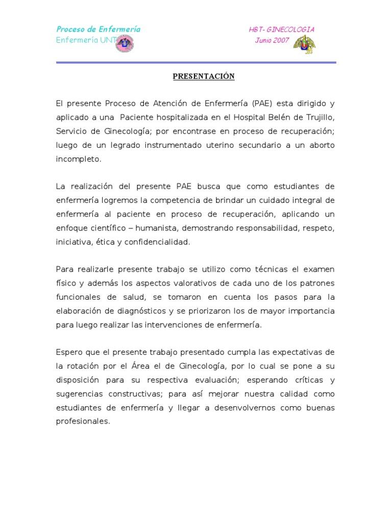 Famoso Carta De Presentación Para Reanudar La Enfermería Adorno ...