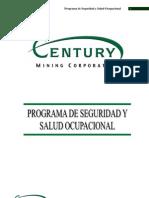 Programa de Seguridad y Salud Ocupacional - Sergio Jara Valdez