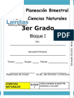 3er Grado - Bloque 1 - Ciencias Naturales