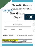 3er Grado - Bloque 1 - Educación Artística