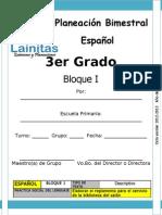 3er Grado - Bloque 1 - Español