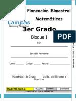 3er Grado - Bloque 1 - Matemáticas