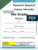 4to Grado - Bloque 1 - Ciencias Naturales