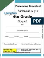 4to Grado - Bloque 1 - Formación CyE