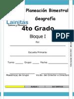 4to Grado - Bloque 1 - Geografía