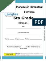 6to Grado - Bloque 1 - Historia