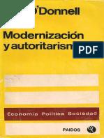 Modernización y Autoritarismo. O´Donnell-Cap.I