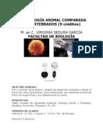 Embriologia Comparada Virginia Segura Garcia