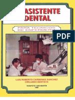 Libro Asistente Dental Dr Cardenas 1996