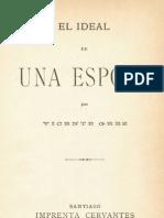 Vicente Grez - El Ideal de Una Esposa