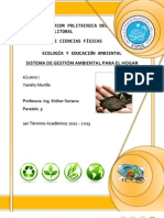 Sistema de Gestión Ambiental para el Hogar Ecología y Educación Ambiental Espol