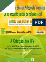 Apresentação Progrma Mulheres Mil - II Fórum Mundial de Educação Profissional e Tecnológica em construção