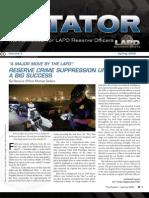 LAPD Reserve Rotator Newsletter Spring 2008