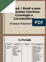 Cronograma Escolas Literárias