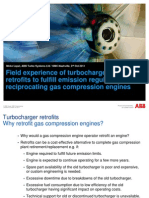 ABB - Field Experience of Turbocharger Retrofit