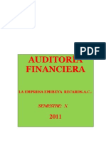 Caso Practico de Auditoria Financiera