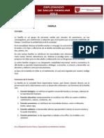 5.- La Familia-Concepto y Generalidades
