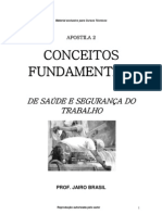 PRINCIPAIS CONCEITOS - SEGURANÇA DO TRABALHO