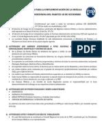 DIRECTIVA HUELGA MEDICA NACIONAL 2012