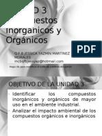 ind. UNIDAD 3 COMPUESTOS INORGÁNICO Y ORGÁNICOS