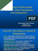 Salesperson Behavior