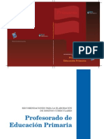 Recomendaciones para la elaboración de Diseños Curriculares - Primaria