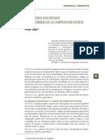 103910102 Los Generos Discursivos y La Ensenanza de La Composicion Escrita F Zayas[1]