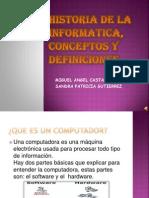 Historia de La Informatica, Conceptos y Definiciones