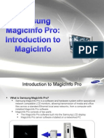 MagicInfo Pro - Introduction to MagicInfo Pro