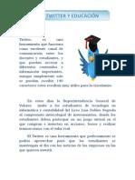 El Twitter en la educación