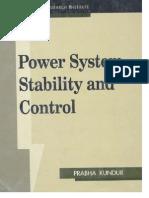 Sistemas de Potencia de Estabilidad y Control de KUNTUR