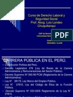 derecho laboral especial y seguridad social luis landeo  2012 2DA CLASE.ppt