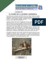 """Lavoisier """"El padre de la química"""""""