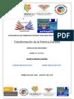 Productos de Transformacion de La Pratica Docente 2012 Violeta