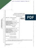 APPLE V. SAMSUNG COMPLETED VERDICT FORM