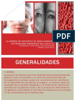La Anemia en Pacientes de Edad Avanzada (2)