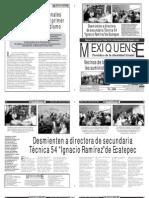 Versión impresa del periódico El mexiquense 24 agosto 2012