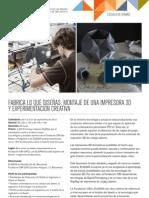 3D Print Workshop