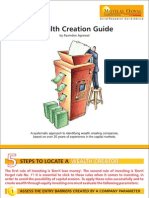 Wealth Creation Guide e Book by Raamdeo Agrawal