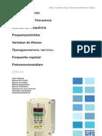 WEG Cfw 09 Manual Do Usuario 0899.5298 4.4x Manual Portugues Br